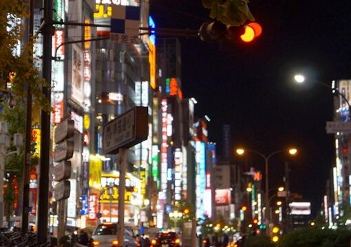 ぼったくりが急増していた歌舞伎町